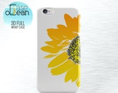 Sunflower Floral phone case, iPhone 6 6s 6Plus case, floral iPhone 5 5s 5c 4 4s phone case, Samsung Galaxy S3 S4 S5 S6 sunflower phone case