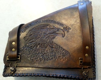 Swing-arm Saddlebag - American Eagle Series