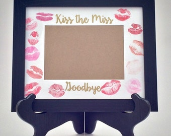 Kiss the Miss Goodbye Picture FRAME and MAT
