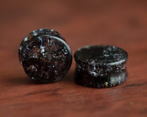 Black Amethyst Glass Shatter Plugs