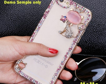 1 Set  Deco Kit Alloy Bling Chains Accessories Cabochon Deco Den on Craft Cell Phone Case DIY Deco kit DD3697