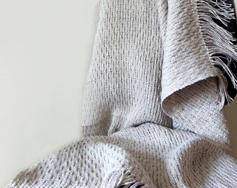 Handwoven linen blanket, natural cover, handwoven blanket, linen summer blanket, small blanket, handwoven sofa throw, bed throw, sofa cover