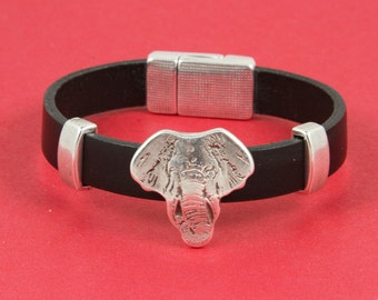 3/4 MADE in EUROPE 2 zamak sliders for 10mm cord, 10mm zamak slider, zamak elephant slider for 10mm cord(94156) qty2