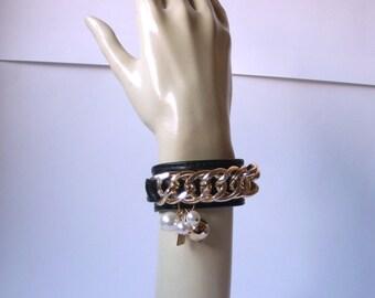 Bracelet Wraistband 'CORA GREEN'