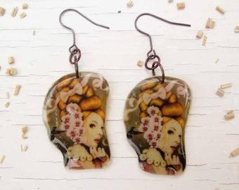 beautiful earrings free shiping
