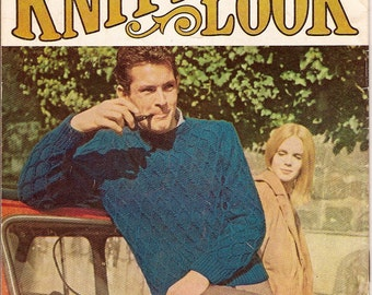 SALE-The Knitted Look-1960s