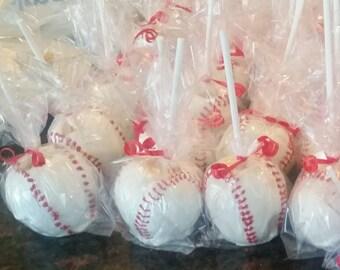 Base Ball inspired apples