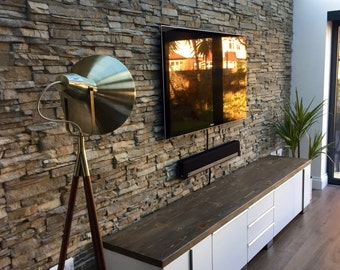 Handmade Reclaimed Wood TV Unit