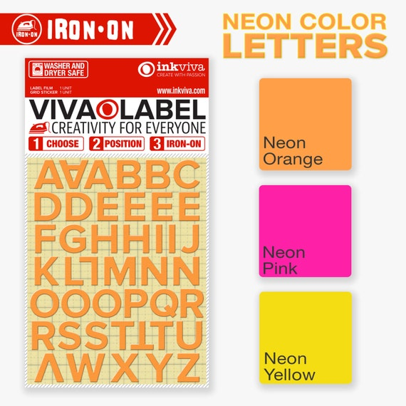 custom iron on letters appliqu personalized name label fabric