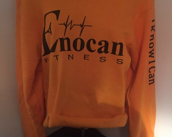ENOCAN Women Off-The-Shoulder Reconstructed Sweatshirt