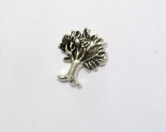 Family Tree Floating Charm - Tree of Life Charm - Mother's Day Grandmother Family Heirloom Locket Charm for glass lockets