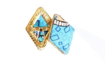 Lola Earring – Blue