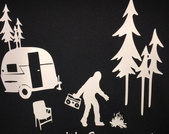 I Party with Sasquatch T-Shirt