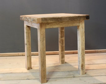 Table, Bistro Cafe / Kitchen Table, Handmade Rustic (The Cinderford)