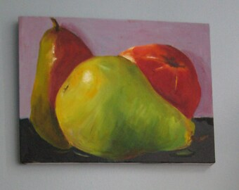 Pears and One Apple