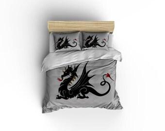 Dragon Duvet covers,dragon bedding, Dragon decor,dragon designer bedding,Dragon comforter covers, dragon sheets, dragon pillows