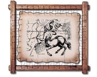 Saggitarius Print CUSTOM Zodiac Constellation Print Constellation Art Chalkboard Print Astrology Print Astrological Signs printable poster