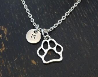 Dog Paw Necklace, Dog Paw Charm, Dog Paw Pendant, Dog Paw Jewelry, Dog Necklace, Dog Charm, Dog Pendant, Dog Jewelry, Dog Lover Gift