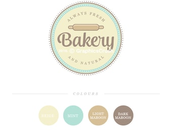 Bakery Logo Design Cakery Logo Design Baking Loogo Food Blog Logo Design Food Logo Bakery Label