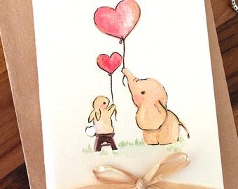 Best Friends {Blank} Greeting Card