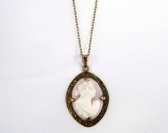 Small Cameo Necklace
