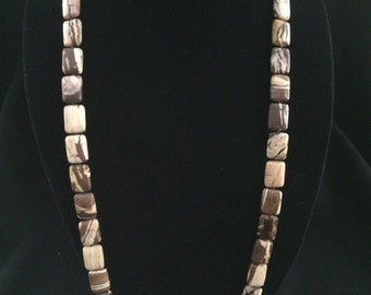Cappuccino Jasper Necklace
