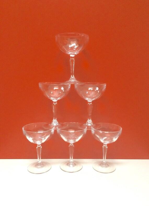 cristal d 39 arques coupe champagne martini sherbet. Black Bedroom Furniture Sets. Home Design Ideas