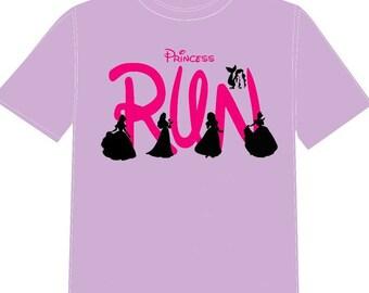 Disney Princess Run shirt