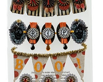 Jolee's Boutique Word Banners Dimensional Stickers, Jolees Halloween Stickers