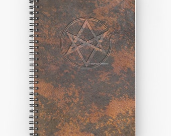 Supernatural Men of Letters Leather Spiral Notebook, You Choose Paper Style!
