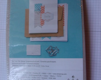 """Stampin Up Simply Sent Kit """"On It's Way"""""""