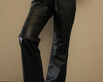 Vintage Real Leather Pants size M