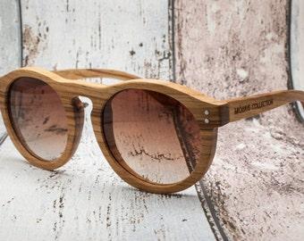 Premium Hepburn - Wooden Eco-friendly Sunglasses by Möbius Collection