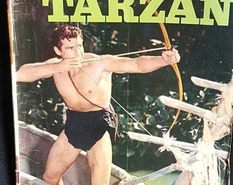 1957 Tarzan Dell Comic Book
