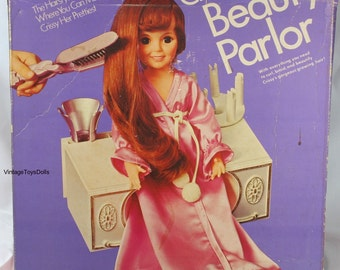 Vintage Ideal Crissy Doll Crissy's Beauty Parlor MIB 1973 RARE!