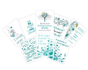 Ovarian Cancer - PRINTABLE Cancer Card, Ovarian Cancer Survivor, Awareness, Cancer Patient Gifts, Cancer Gifts, Encouragement Mini Booklet