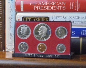 45th Birthday Gift 1973 Anniversary US Mint Coin Set