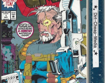 Cable Vol. 1 #1 First Issue - Future Destiny Gold Embossed Cover - looks mint!