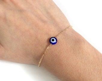 Evil Eye Bracelet gold Evil eye jewelry Silver Evil Eye Bracelet
