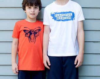 Courageous Bug T-shirt Size 8-12
