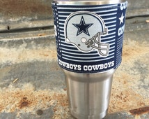 Yeti, Dallas Cowboys decal, cowboys yeti sticker, Cowboys fan, dallas cowboy cheerleaders, cowboys yeti, cowboys decal, cowboys sticker