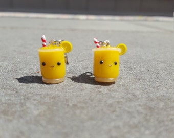 Cute Polymer Clay Lemonade Charms