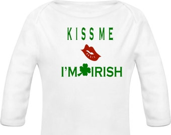 Kiss Me I'm Irish Onesie