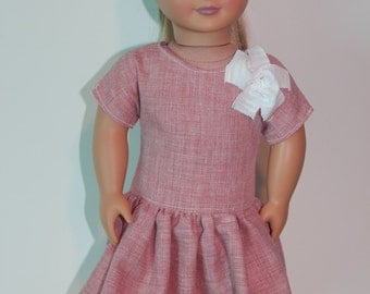 """18"""" doll clothes, American Girl doll clothes, Pink 18"""" doll clothes, kayleesboutique03"""