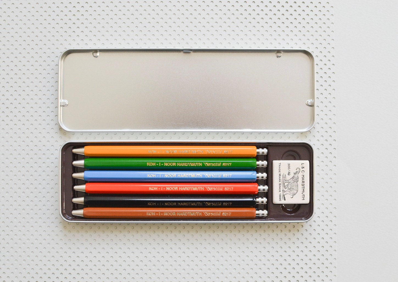 Lead holder Mechanical colored pencil crayon clutch pencil ...