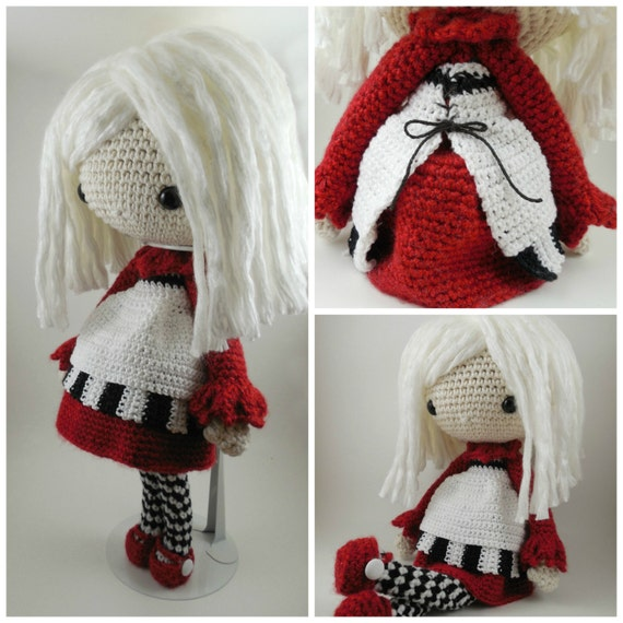 Glasses For Amigurumi : Elvira Amigurumi Doll Crochet Pattern PDF by CarmenRent on ...