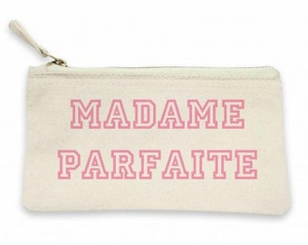 "Pouch ""Ms. perfect""! Pouch for women, gift MOM, mother gift, pouch for mother, MOM, pouch makeup bag"