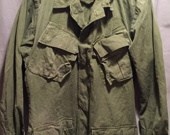 U.S Army 1960's Vietnam War Tropical Combat Shirt