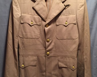 WW2/Korean Era USN Pilot Tunic W/ Bullion USN Pilot Wings