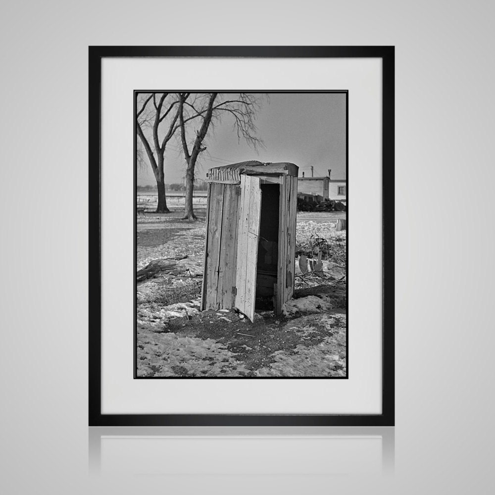 Modern farmhouse wall art funny bathroom art framed for Modern black and white wall art